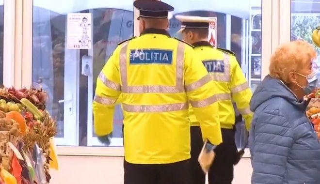 Polițiștii au început să dea sute de amenzi celor care nu poartă mască