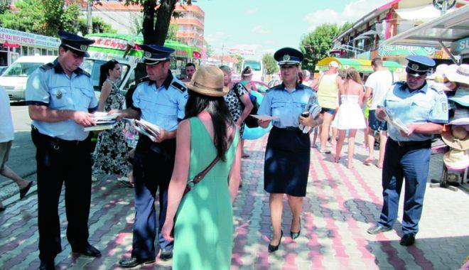 Foto: Poliţia Constanţa, AMENZI pentru patronii care nu asigură paza unităţilor de cazare