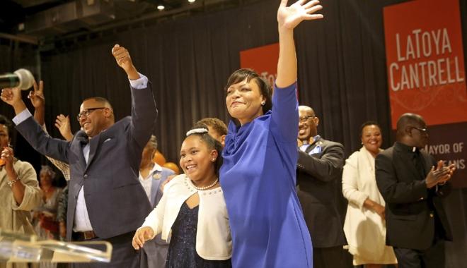 Foto: SUA: O femeie, primar al oraşului New Orleans