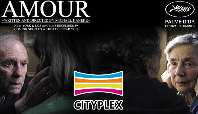 """Foto: Cityplex vă invită la EXOTIC VALENTINE'S DAY şi proiecţia GRATUITĂ a  filmului """"AMOUR"""""""