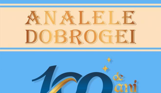 """""""Analele Dobrogei""""- 100 de ani de la apariţia primului număr - analeledobrogei-1610723772.jpg"""
