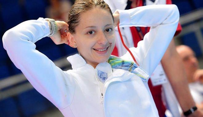 Foto: Scrimă - CM 2018 / Ana Maria Popescu şi-a asigurat medalia de bronz la spadă individual