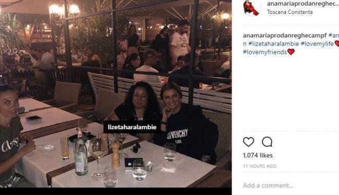 Foto: Cină prietenească sau legături cu SSC Farul? Ana Maria Prodan, alături de un personaj bine cunoscut în Constanţa