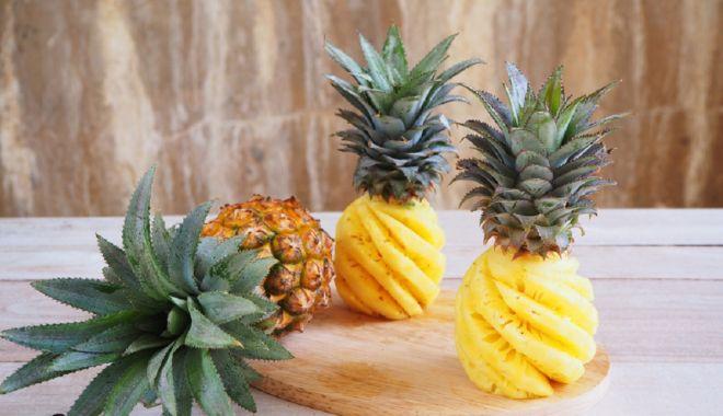 Foto: De ce vă ajută ananasul să slăbiți
