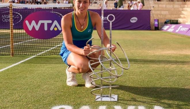 Foto: Tenis / Anastasija Sevastova a câştigat turneul de la Mallorca