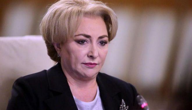 """Foto: Viorica Dăncilă, mesaj către Klaus Iohannis: """"Să se abţină de la astfel de declaraţii!"""""""