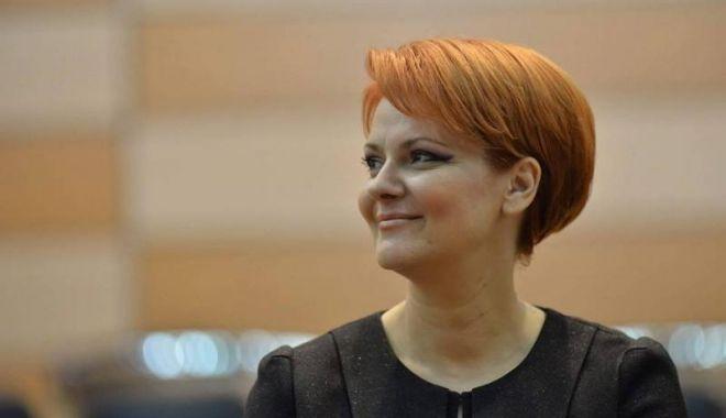 Foto: Olguța Vasilescu va fi consilier al premierului Viorica Dăncilă