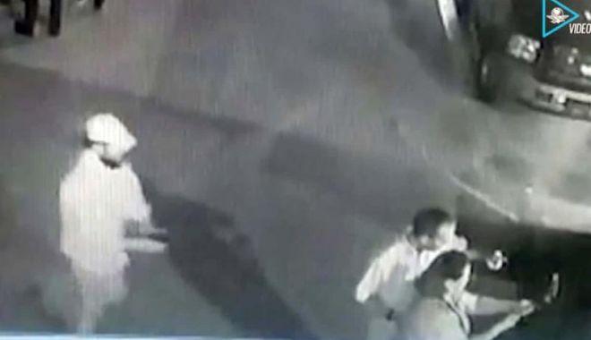 Foto: Politician executat cu sânge rece, în timp ce făcea un selfie