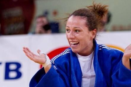 Foto: Judo: Andreea Chiţu, argint la categoria 52 kg la CE de la Budapesta