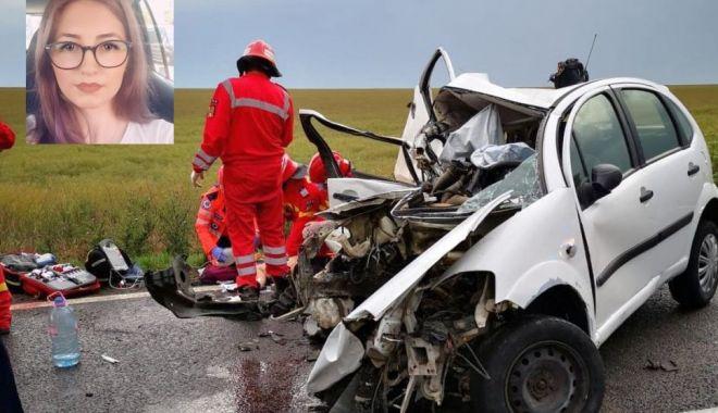 Cine este șoferița decedată în accidentul de aseară. Peste câteva zile, ar fi fost ziua ei de naștere… - andra33-1591974583.jpg