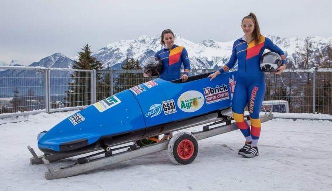 Foto: Andreea Grecu şi Teodora Vlad iau startul la Campionatele Mondiale