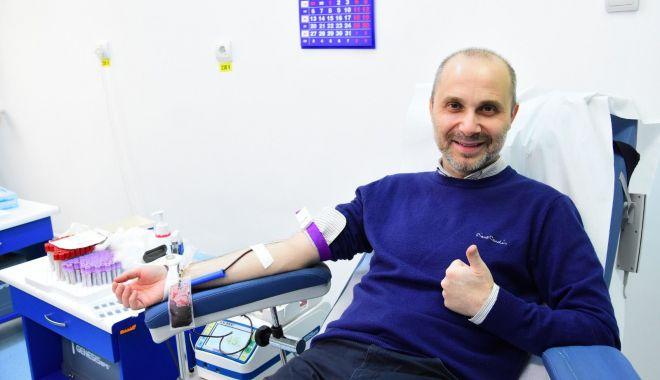 Foto: Angajaţii Primăriei Constanța, participanți direcți la campania  de donare de sânge