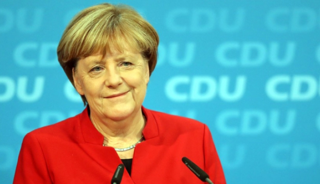 Foto: Angela Merkel intenţionează  să rămână cancelar pentru încă  patru ani