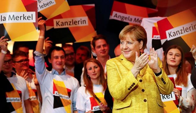 Foto: Alegeri în Germania: Rezultate definitive, victorie netă a conservatorilor Angelei Merkel
