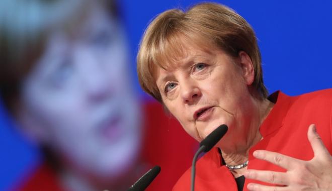 "Foto: Angela Merkel: ""Europa are nevoie de o Germanie puternică!"""