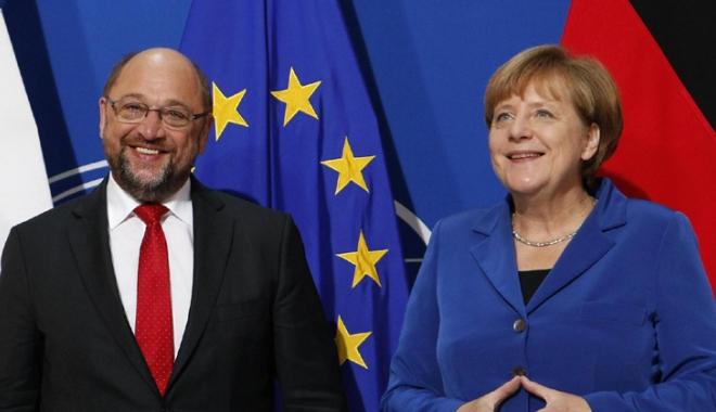 Foto: Angela Merkel speră să finalizeze până  la jumătatea lui ianuarie discuţiile cu SPD