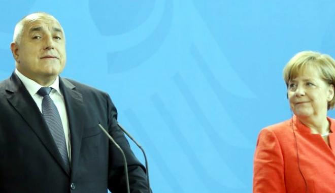 Foto: Angela Merkel salută iniţiativa premierului bulgar privind  organizarea unei reuniuni UE-Turcia