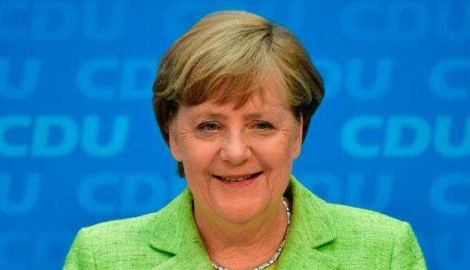 Foto: Angela Merkel primeşte Premiul Fulbright pentru Înţelegere Internaţională