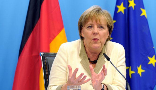 Foto: Angela Merkel respinge posibilitatea de a deţine o funcţie de conducere la nivelul UE