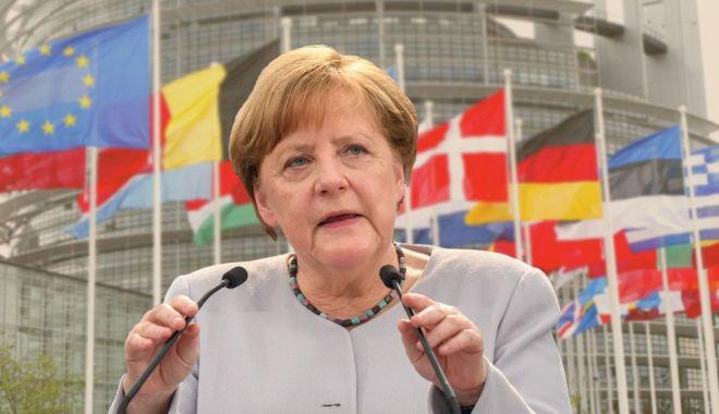 """Foto: Angela Merkel: """"După Brexit, Londra va fi un nou concurent la porțile UE"""""""