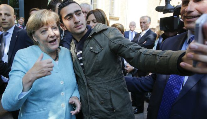 Foto: Angela Merkel: Migraţia  este cea mai mare provocare