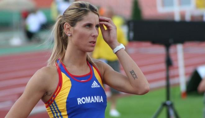 Foto: Atletism: Angela Moroşanu,locul doi la 400 m garduri în Liga de diamant, la Shanghai