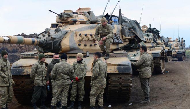 Foto: Ankara îndeamnă SUA să facă uz de influența lor pe lângă forțele kurde