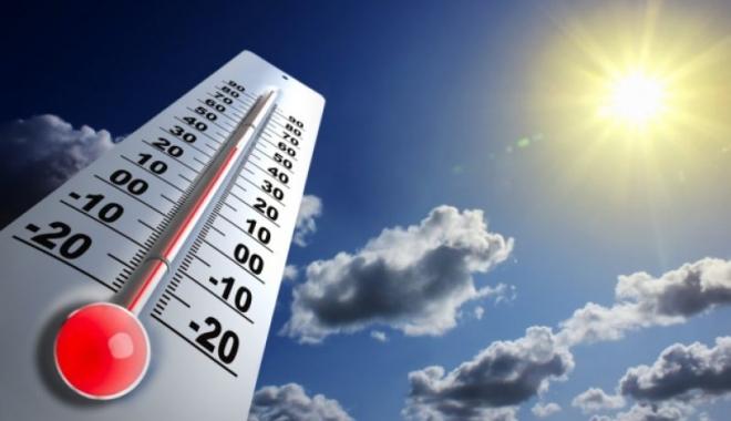 Foto: COD ROŞU de CANICULĂ. Sunt 34 de grade la această oră, la Constanţa