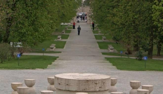 Foto: Târgu Jiu: Ansamblul sculptural Constantin Brâncuși nu va fi introdus pe lista UNESCO
