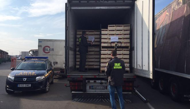 Foto: Antifrauda  a verificat  peste 43.700  de autovehicule  de marfă
