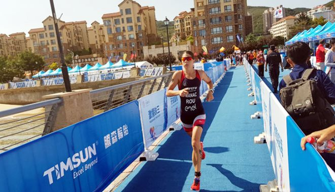 Antoanela Manac, locul 33 la Weihai ITU Triathlon World Cup - antoanelamanac-1537980132.jpg