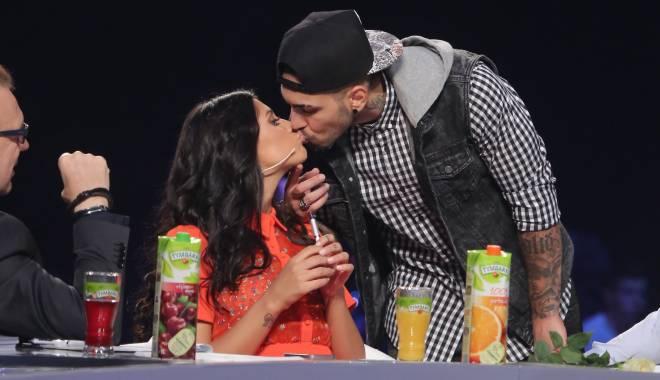 Foto: Alex Velea şi Antonia, sărut de 200.000 de euro