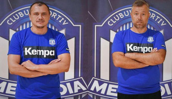 Antrenorii Adrian Georgescu şi Ionuţ Deli-Iorga, la naţionala de beach-handball - antrenorii2-1623161073.jpg