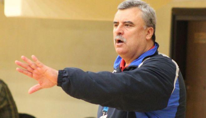 Foto: Antrenorul constănţean Ion Crăciun va antrena pe Corona Braşov