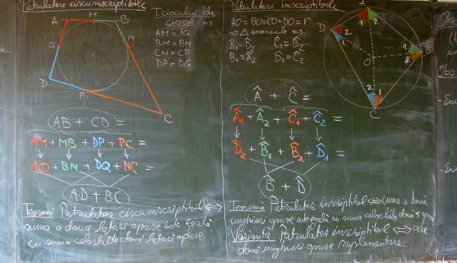 Foto: Anunţ important  pentru matematicieni