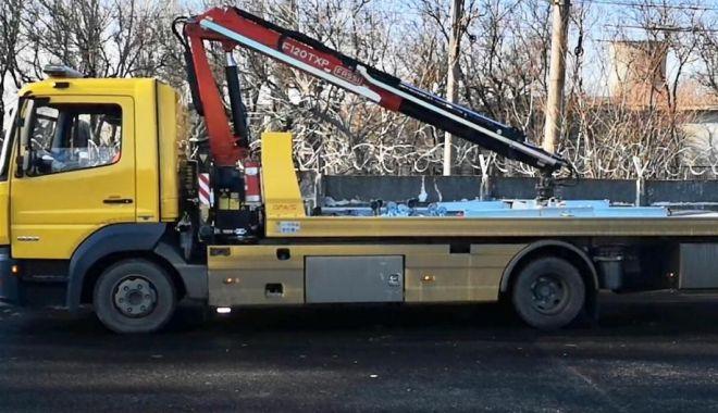 Foto: Anunț important de la Primăria Constanța referitor la mașinile parcate neregulamentar