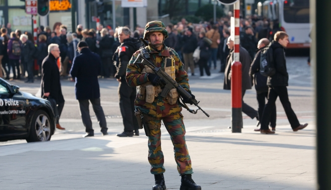 Foto: ATENTAT TERORIST LA ANVERS. Un tunisian a fost arestat