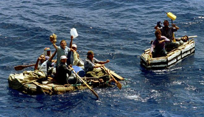 Foto: Garda de Coastă malteză a salvat de la înec 85 de migranți