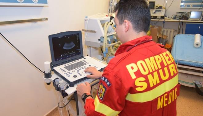 Foto: Aparatură nouă  în Urgenţa Spitalului Judeţean, pentru pacienţii critici