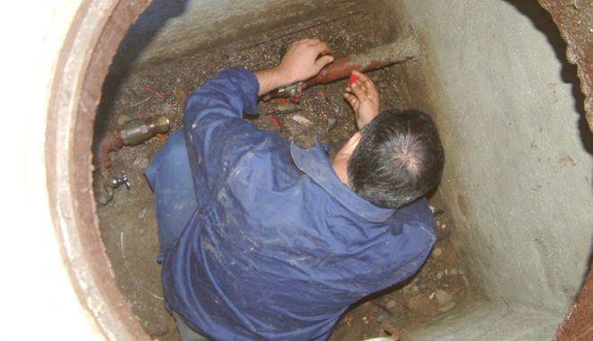 Foto: Zona Casa de Cultură din Constanţa rămâne fără apă rece