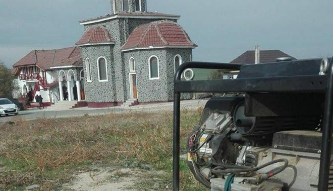 Foto: Apel umanitar după ce hoţii au furat, din nou, generatorul de la mănăstirea Colilia