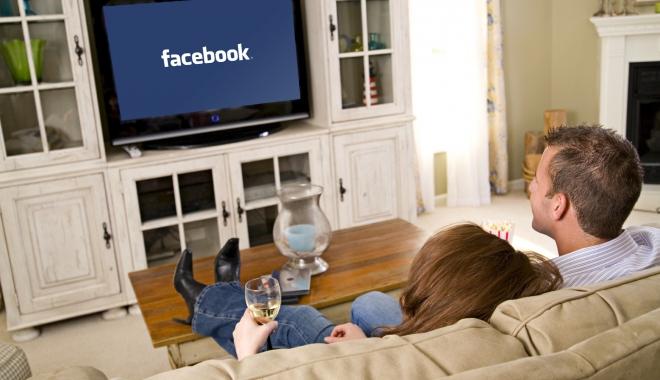 Foto: Facebook pe televizor. O nouă aplicaţie, disponibilă în curând