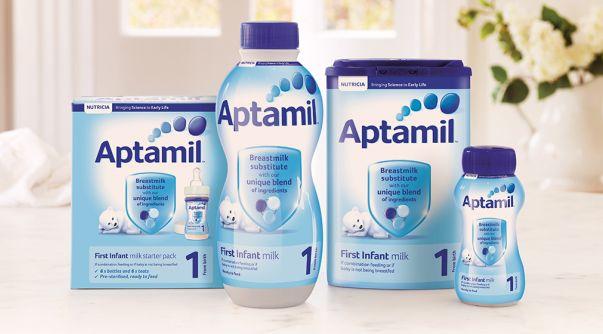 ATENŢIE! Danone investighează plângeri conform cărora laptele praf Aptamil le-ar face rău bebelușilor