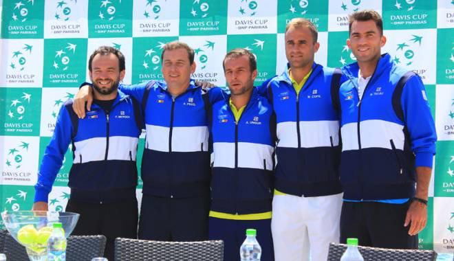 Foto: Arad, gazda meciului România - Slovenia, din Cupa Davis