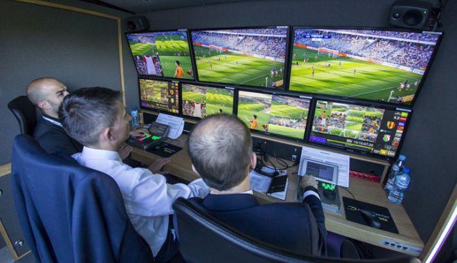 Foto: Arbitrajul video va fi introdus din februarie în Liga Campionilor, a anunțat UEFA