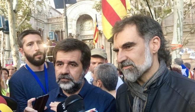 """Foto: """"Arestarea a doi lideri separatişti catalani, o problemă judiciară, nu politică"""""""