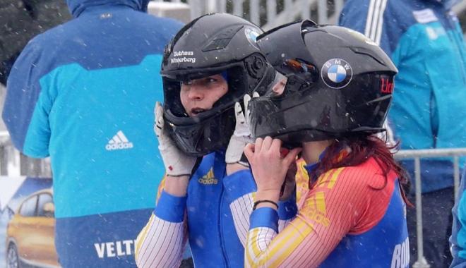 Foto: Argint la Cupa Europei! Bobul tricolor prinde viteză spre JO 2018
