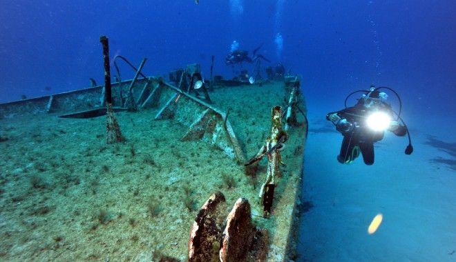 Foto: Arheologia subacvatică ne scoate la lumină istoria