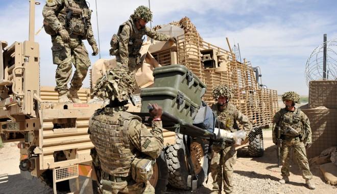 Foto: Armata britanică îşi încheie misiunea de luptă în Afganistan