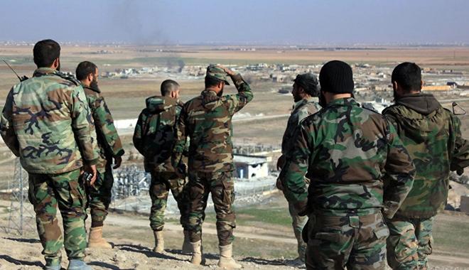 Foto: Armata siriană a recucerit de la Statul Islamic câmpuri petroliere din zona Raqqa